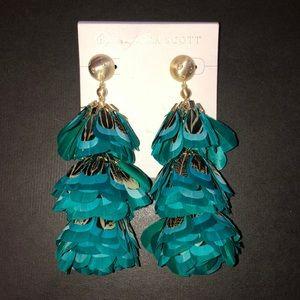 Kendra Scott Lenni Feather Earrings